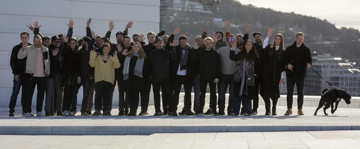 Gjengen i Dekode ønsker ny prosjektleder velkommen