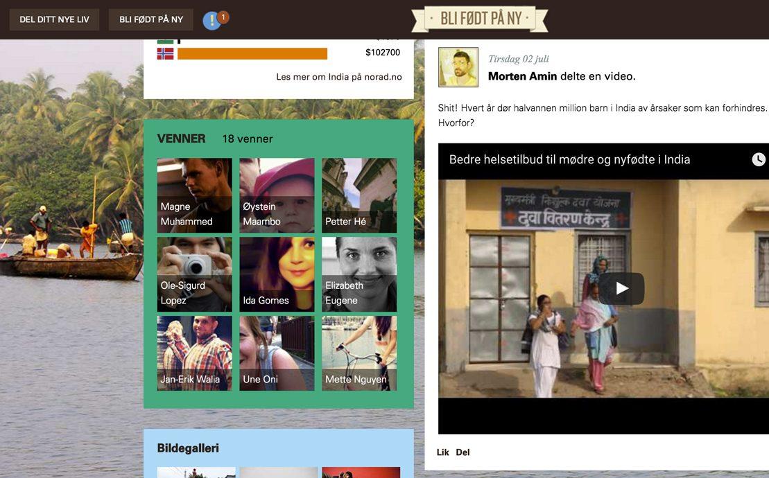Desktop skjermbilde av Norad – Gjenfødt