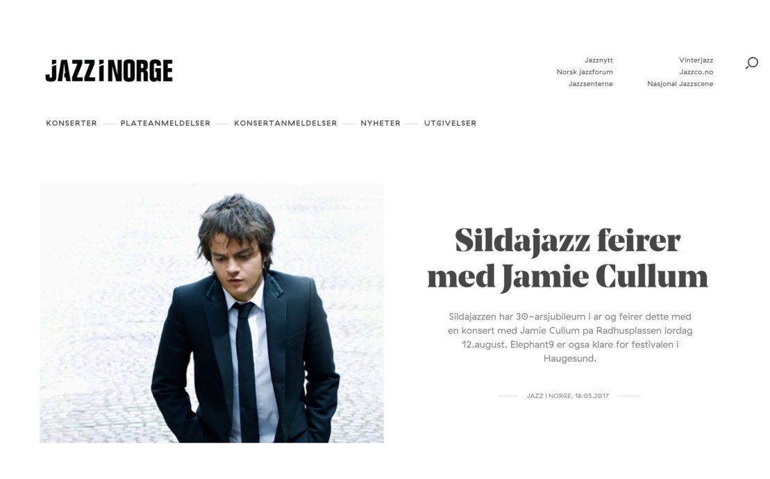 Desktop skjermbilde av Jazz i Norge