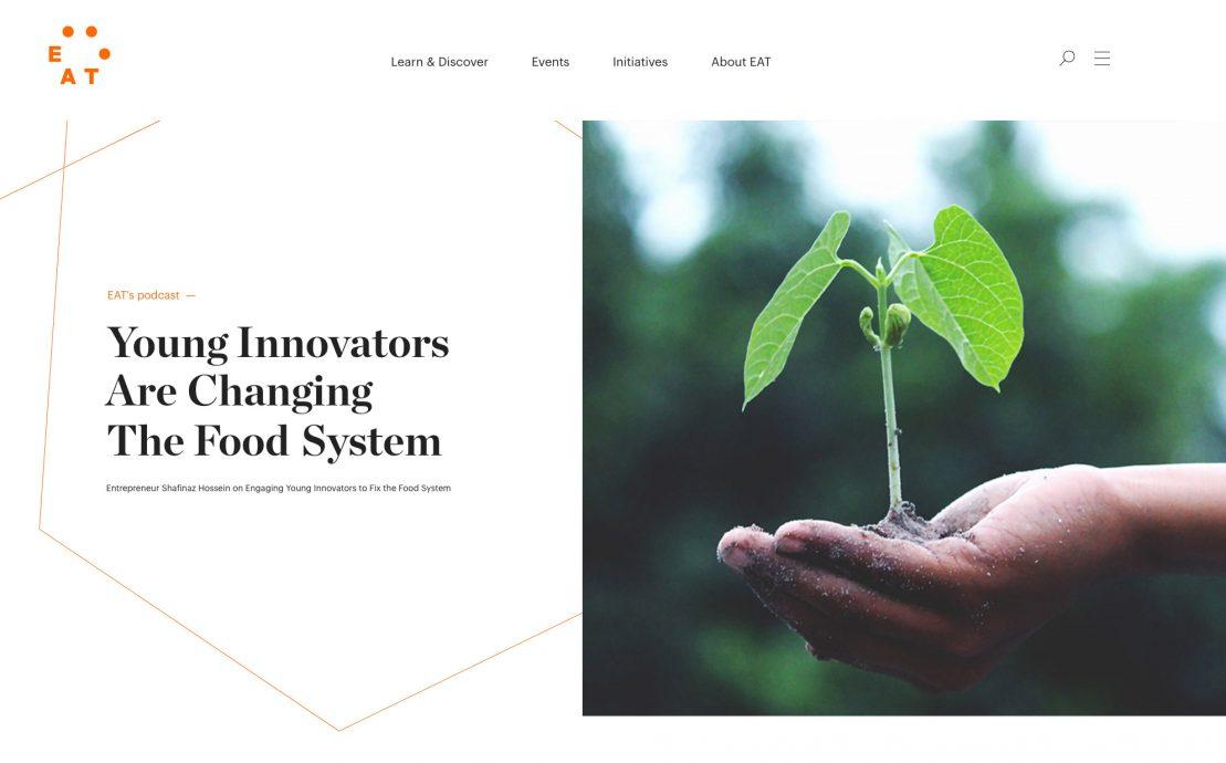 Desktop skjermbilde av Eat Foundation