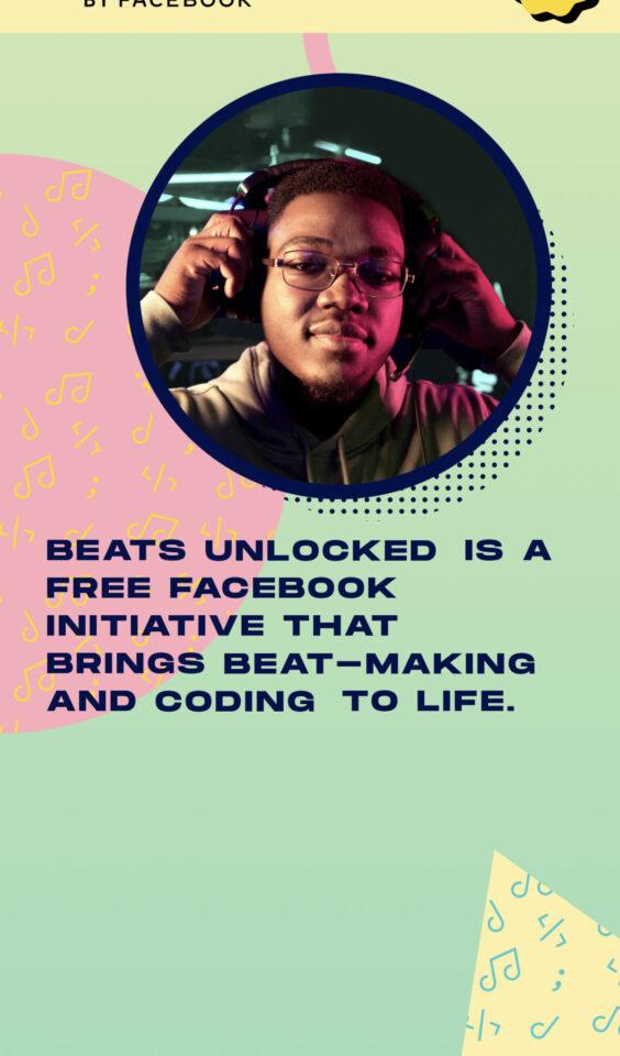 Mobil skjermbilde av Beats Unlocked by Facebook