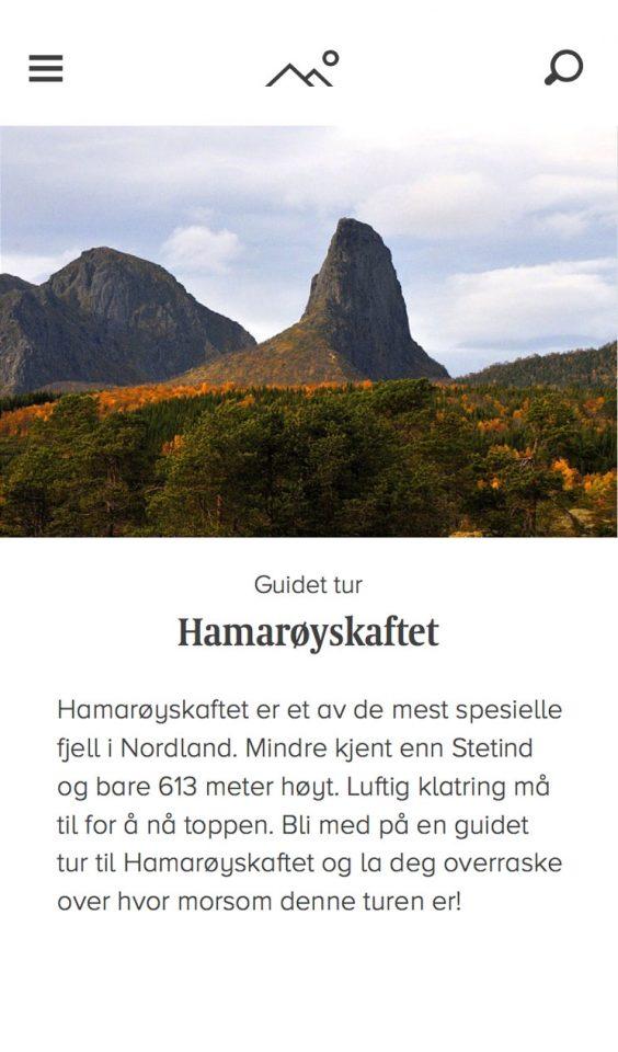 Mobile screenshot of Nordland Turselskap
