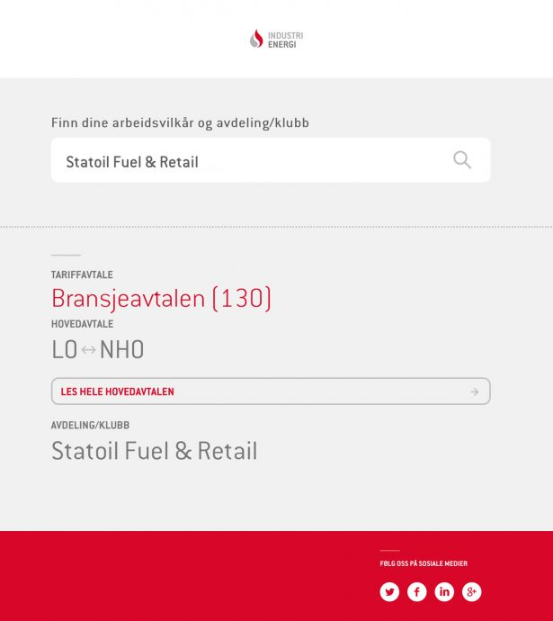 Tablet screenshot of Industri Energi