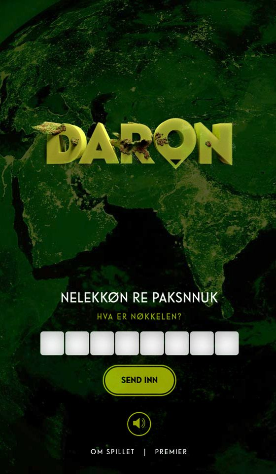 Mobile screenshot of Norad – Daron