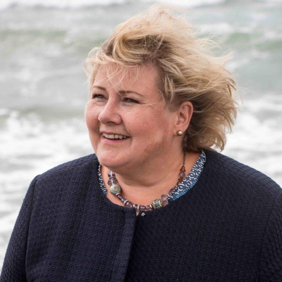 Image of prime minister Erna Solberg