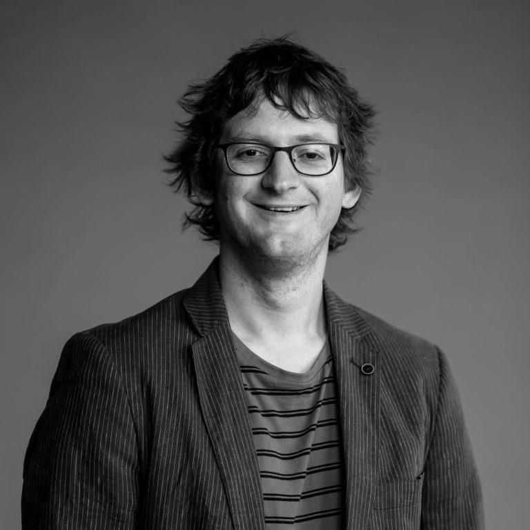 Rasmus Rimestad jobber som utvikler i Dekode
