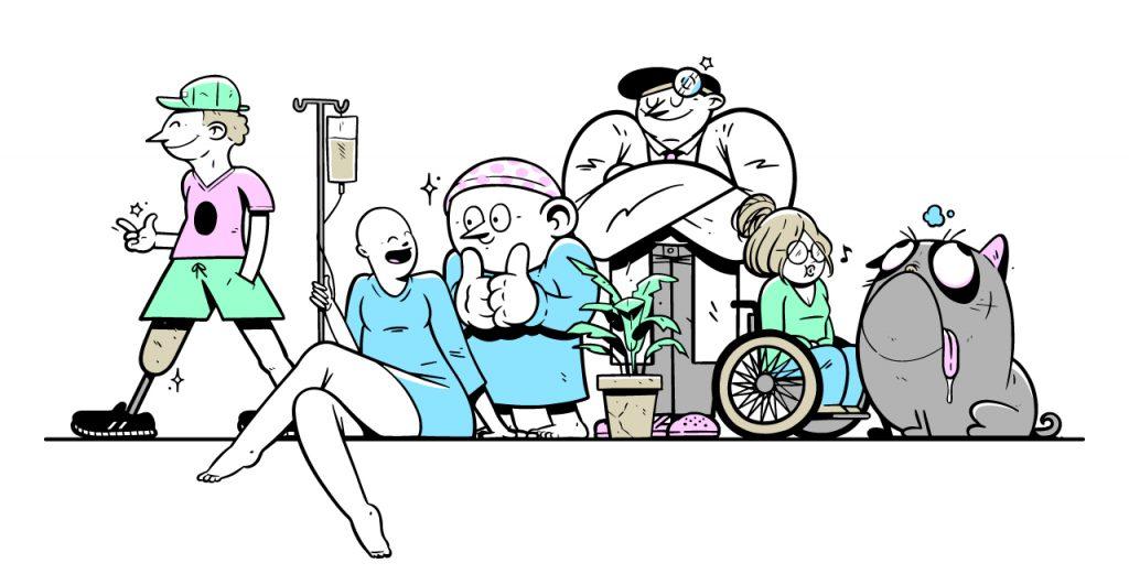 pasientorganisasjoner kan bruke Nisje til sine medlemmer