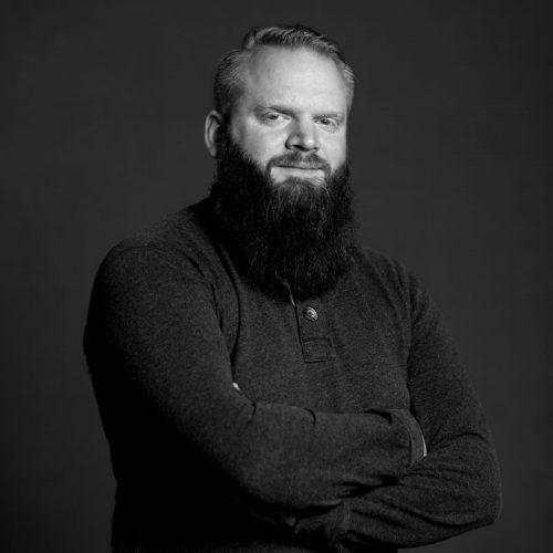Portrett av Marius Jensen, Fullstack-utvikler i Dekode