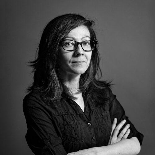 Portrait of Iulia Cazan