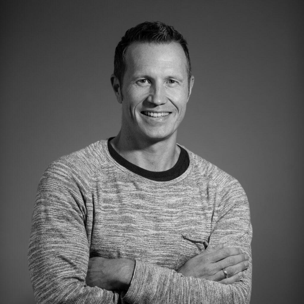 Portrettfotografi av utvikler i Dekode, Peder Andreas Nielsen