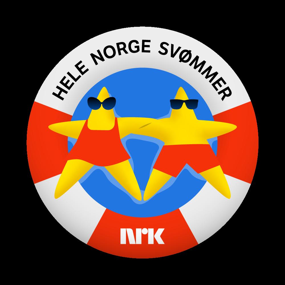 Logo for Hele Norge svømmer